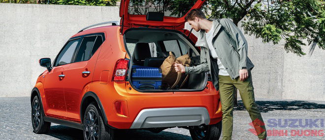 Khoang hành lý Suzuki Ignis 2021 - Bình Dương
