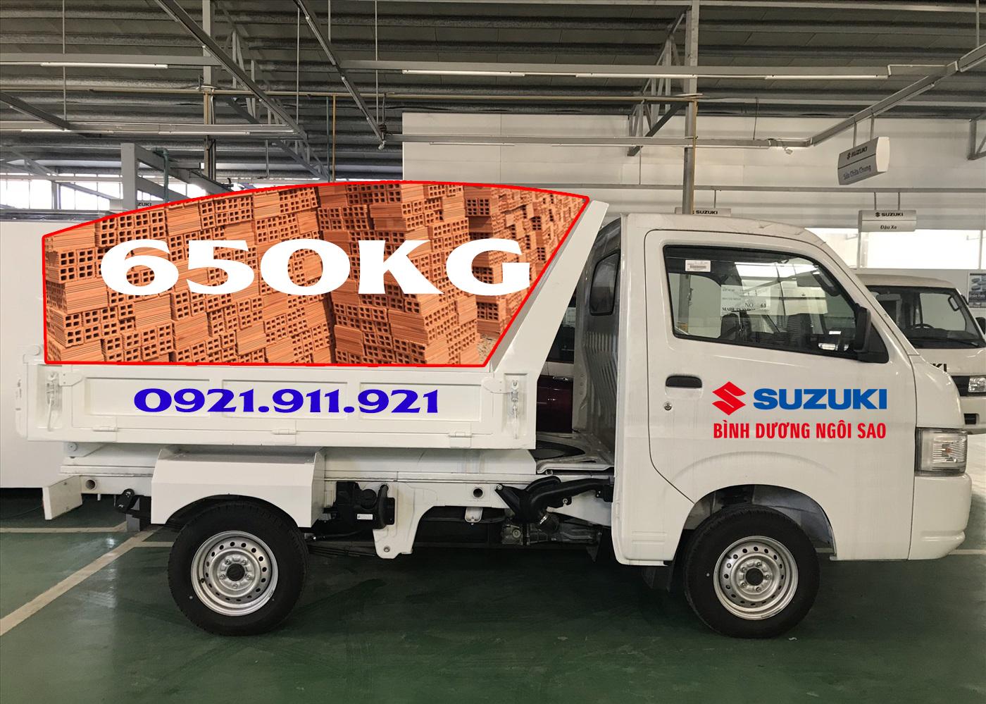 Suzuki carry pro Ben thích hợp chở Vật liệu xây dựng